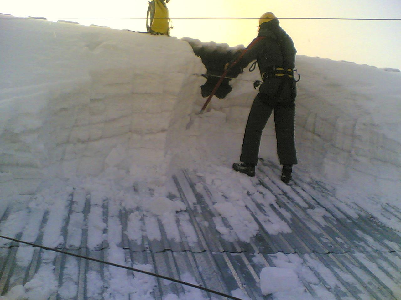 Оквэд чистка крыш от снега